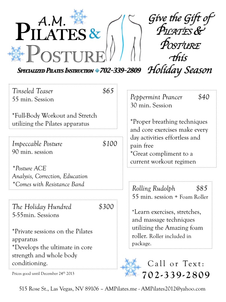Holiday Specials 2013