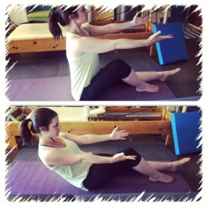 Single Leg Roll-Downs in the 2nd trimester